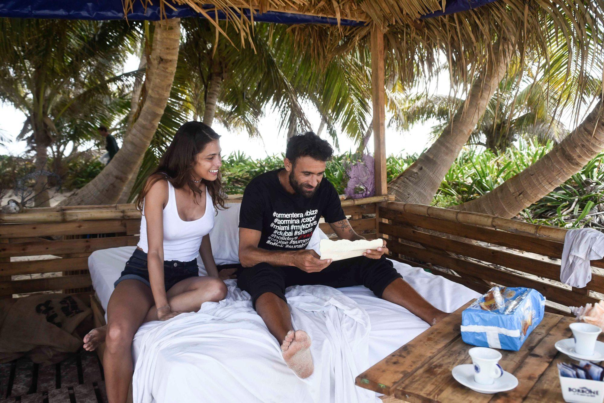 Isola dei famosi, Ghezzal e Ariadna Romero sulla Isla Bonita