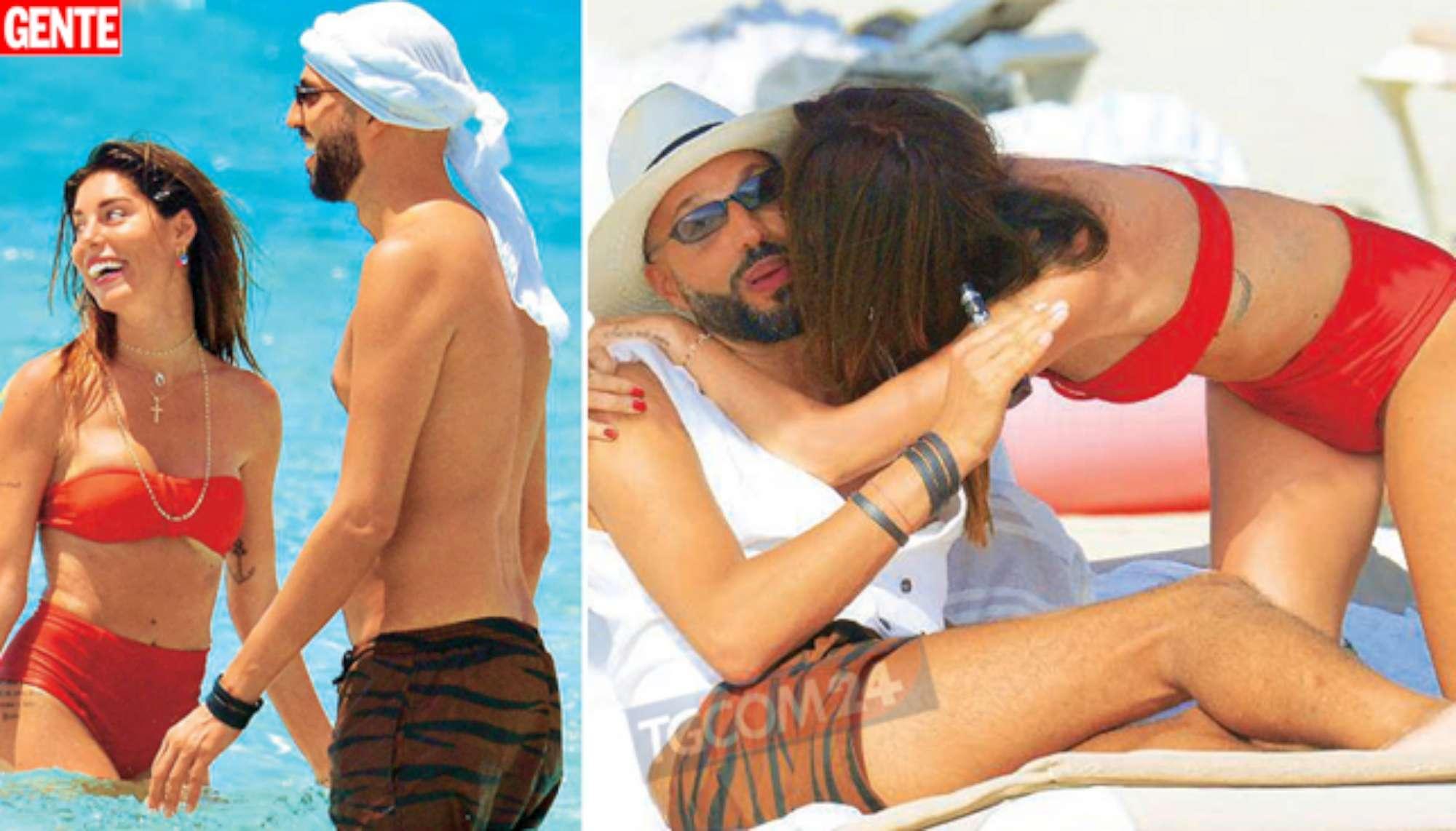 Bianca Atzei e Jonathan Kashanian, relax alle Baleari