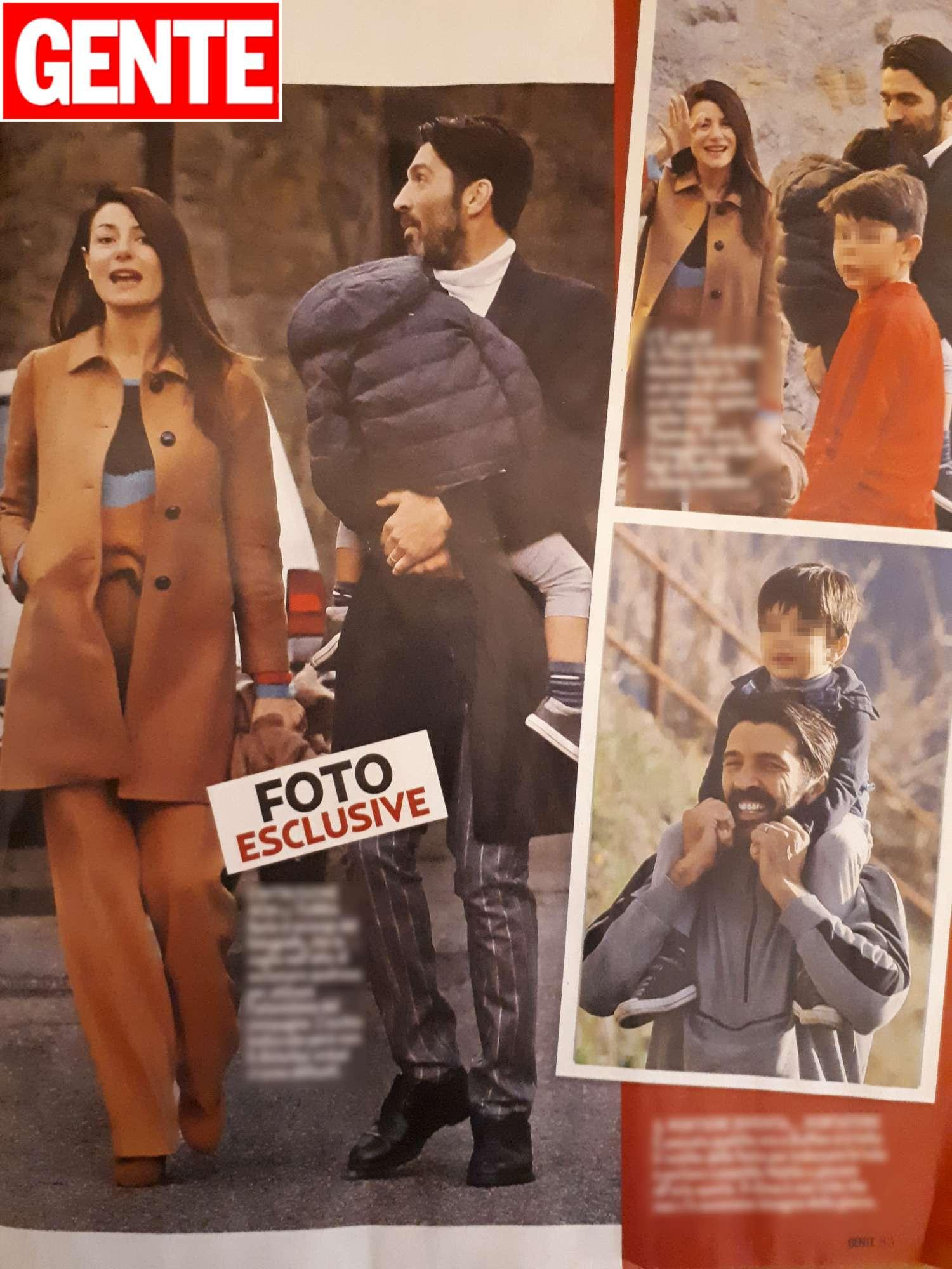 Gigi e Ilaria hanno trascorso le festività con parenti e amici a Treschietto
