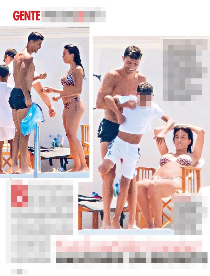 Pancino sospetto per Georgina, quinto bebè in arrivo in casa Ronaldo?