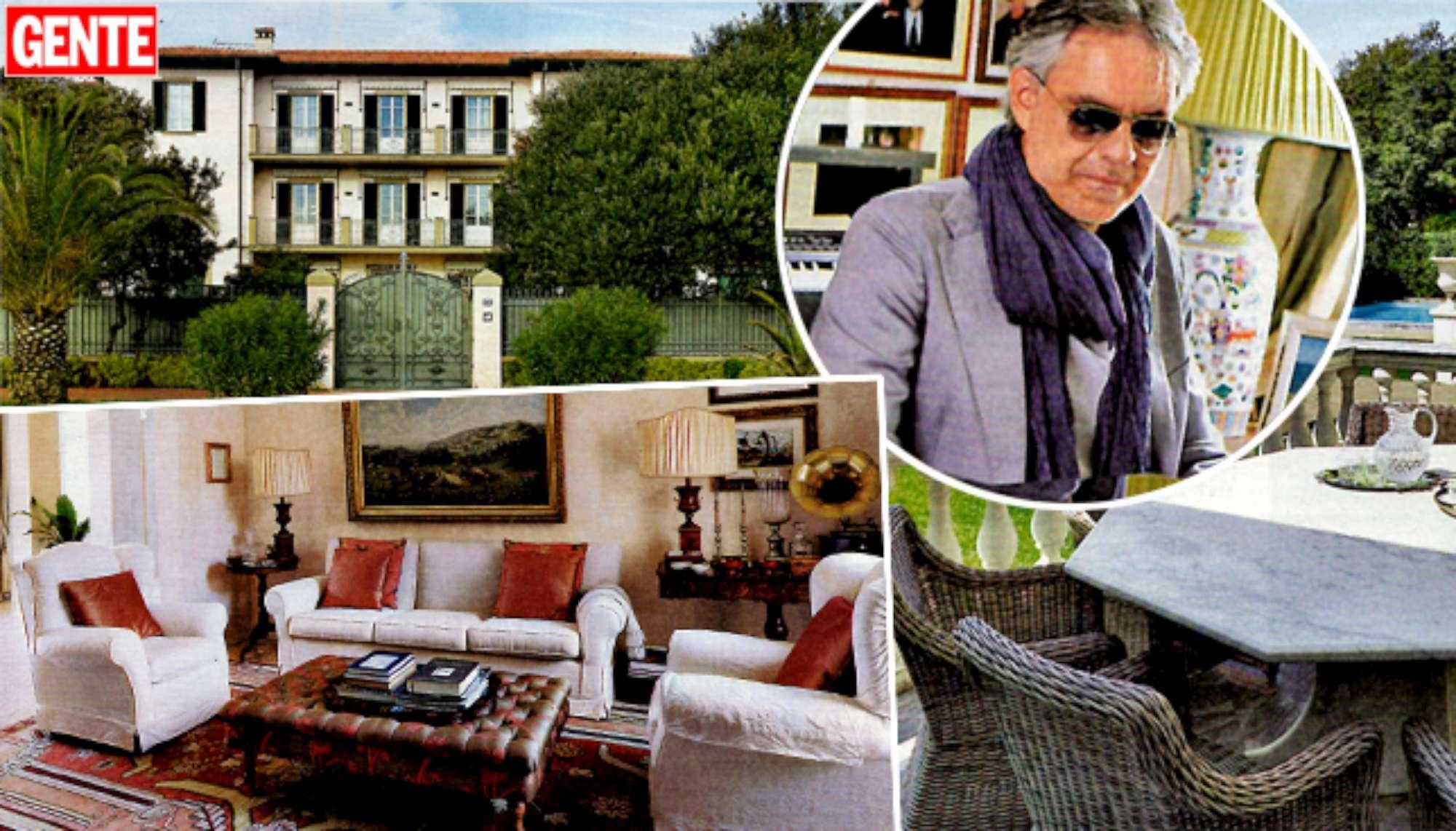 Andrea bocelli ecco la sua villa di lusso a forte dei marmi foto tgcom24 - Bagno bocelli forte dei marmi ...