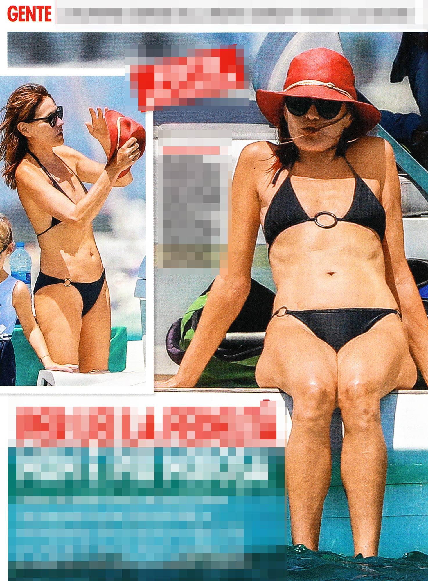 Carla Bruni più bella che mai sfoggia un fisico da ragazza in barca con Sarkozy