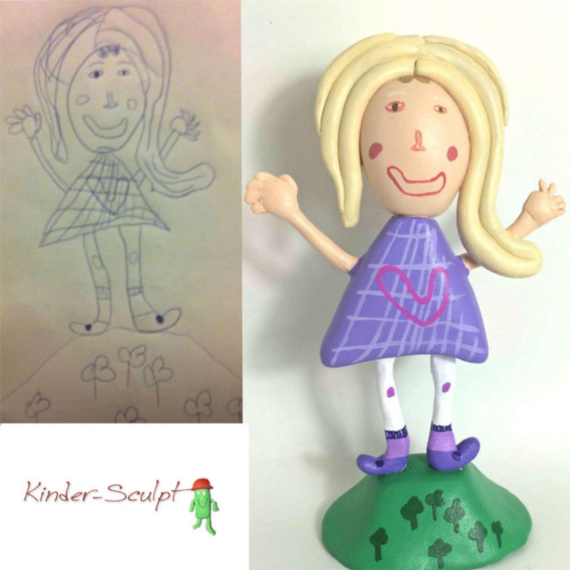 Da disegno a giocattolo: l artista che trasforma i disegni dei bambini