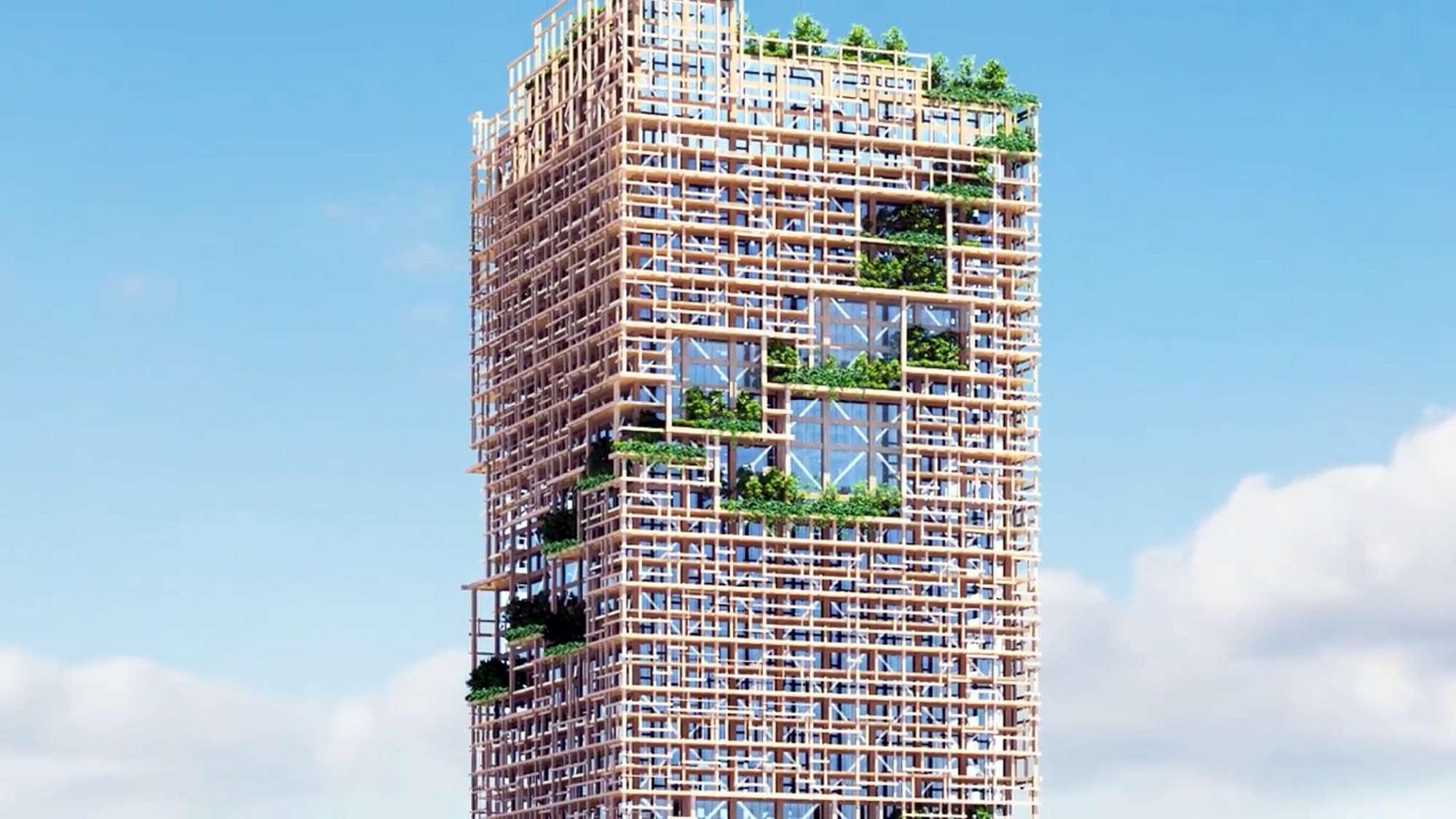 A tokyo il grattacielo green pi alto del mondo in for Grattacielo piu alto del mondo
