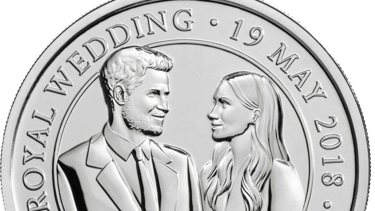 Harry e Meghan, coniate le monete commemorative per il matrimonio