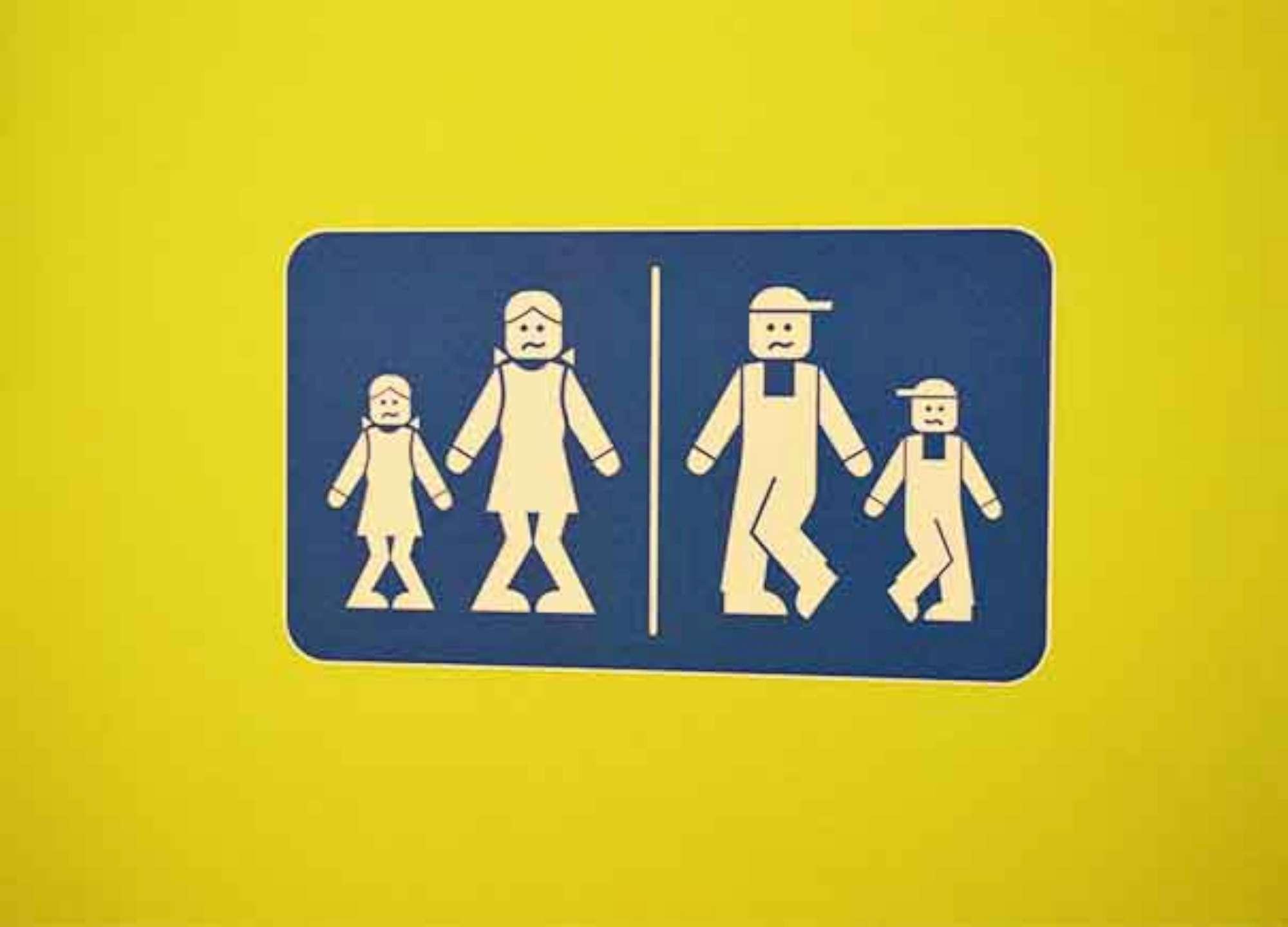 Cartello Per Bagno Signore : Al wc con fantasia: le indicazioni e i cartelli più bizzarri del