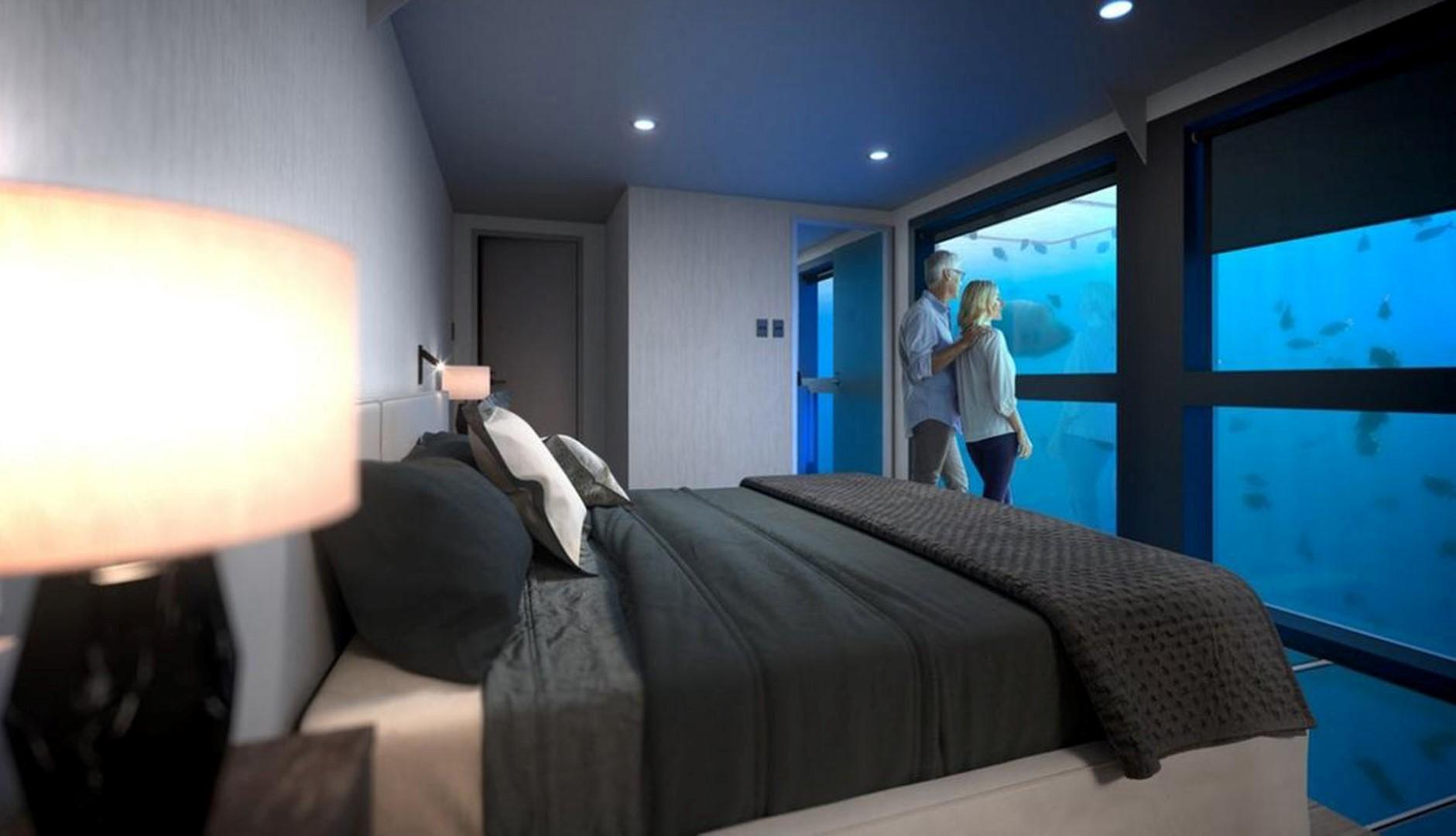 Australia: l'hotel sottomarino per dormire tra pesci e coralli
