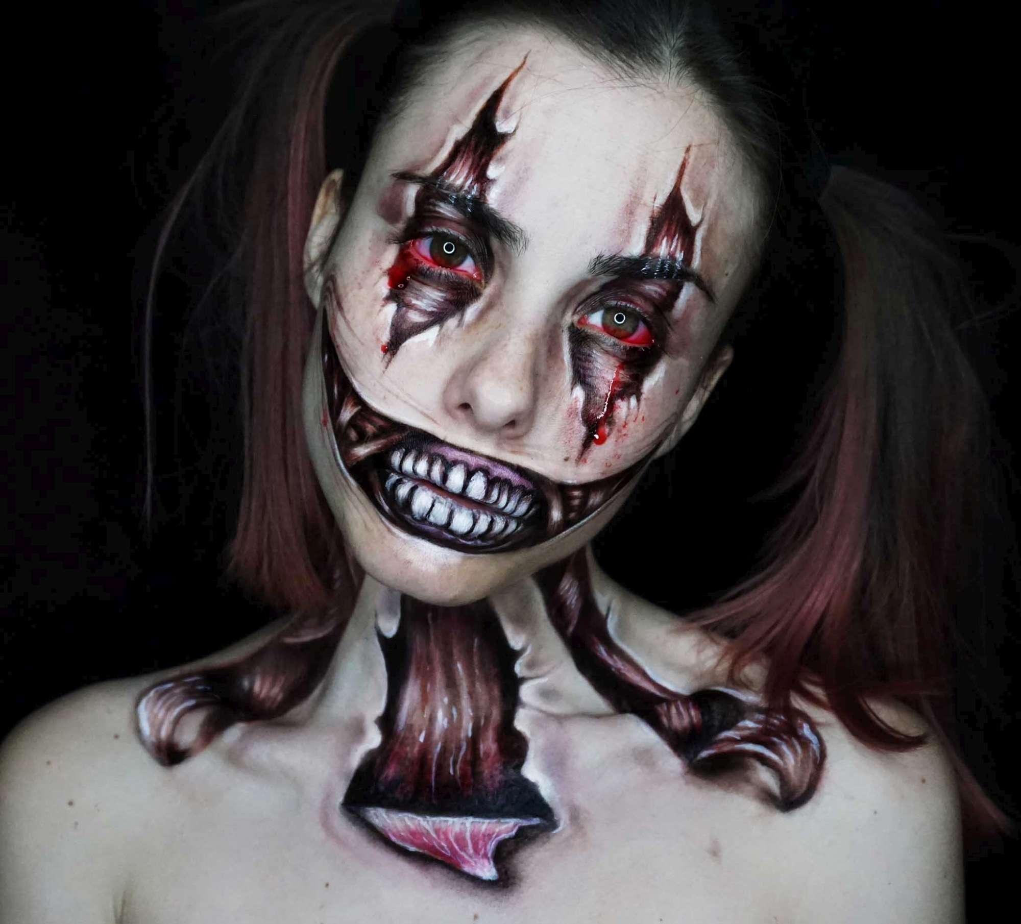 Halloween  scopri i trucchi da paura - Tgcom24 1f7ea599d0ce