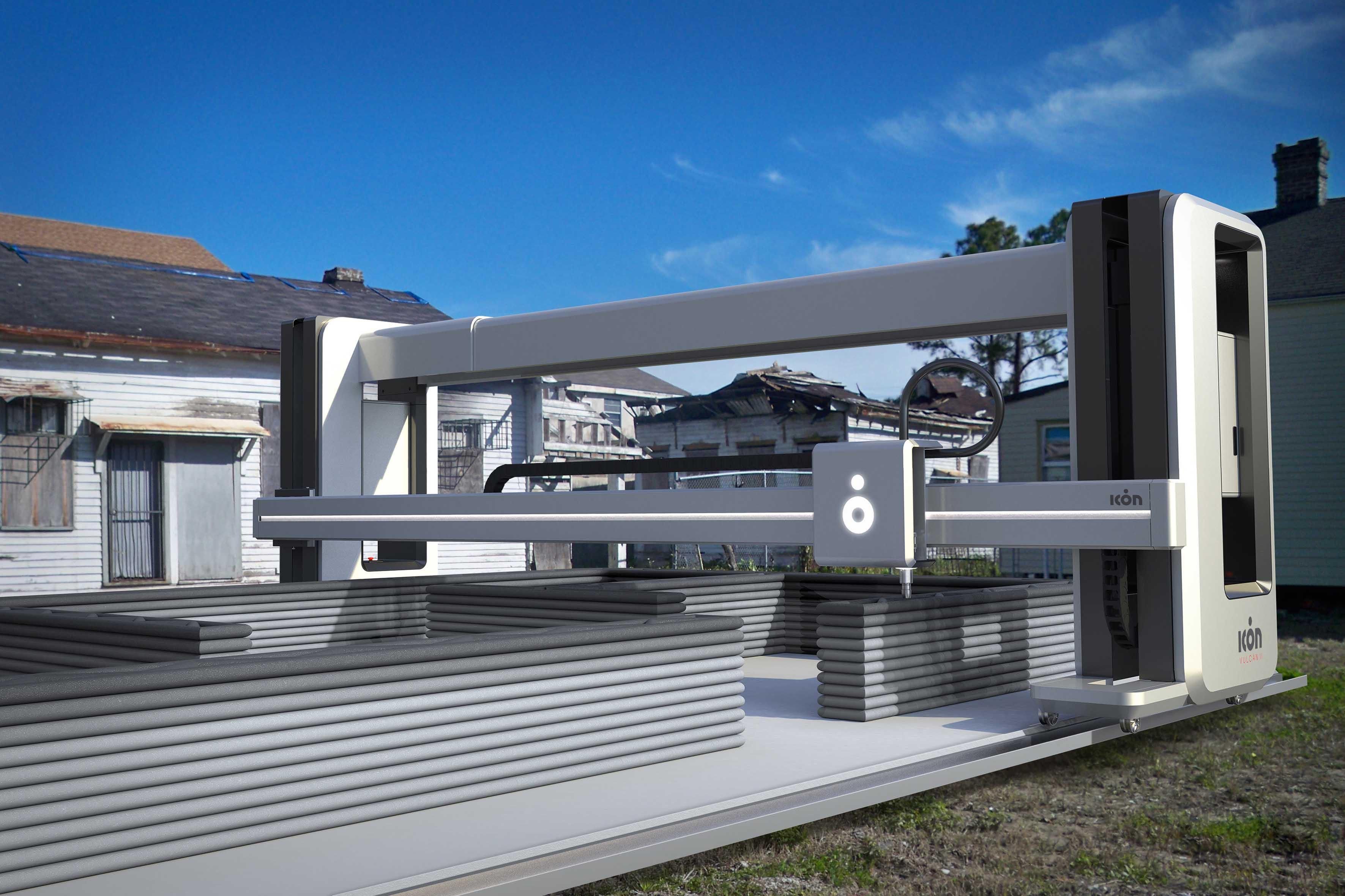 Ecco la prima cittadina costruita interamente con una stampante 3D