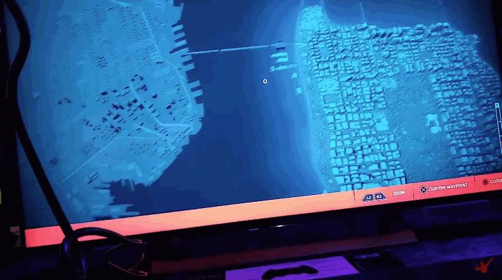 La mappa di Spider-Man PS4