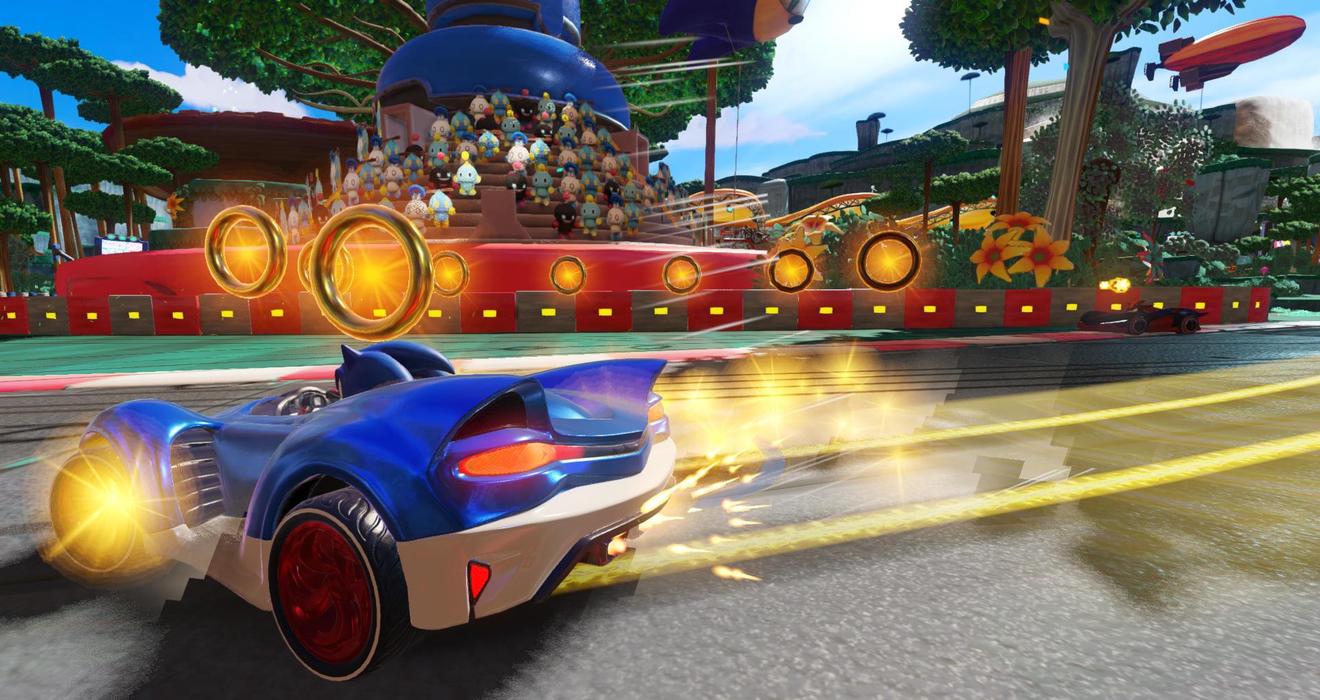 Le prime immagini di Team Sonic Racing