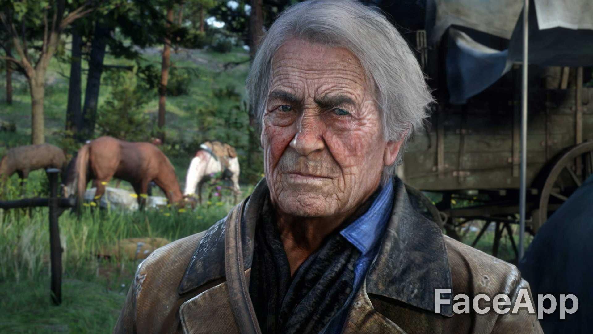 Come sarebbero i personaggi dei videogiochi da anziani