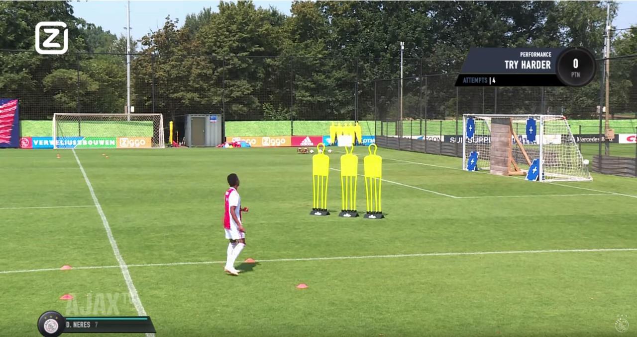 Ajax: gli allenamenti in stile FIFA