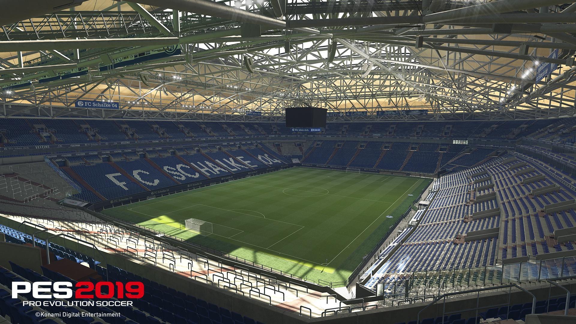 PES 2019: le immagini della Veltins-Arena
