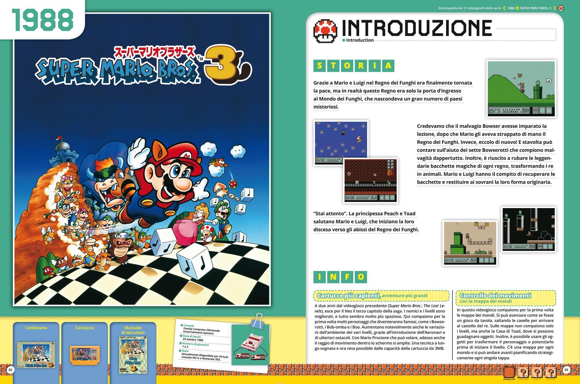 Super Mario Bros. Enciclopedia, il volume con la storia di Super Mario