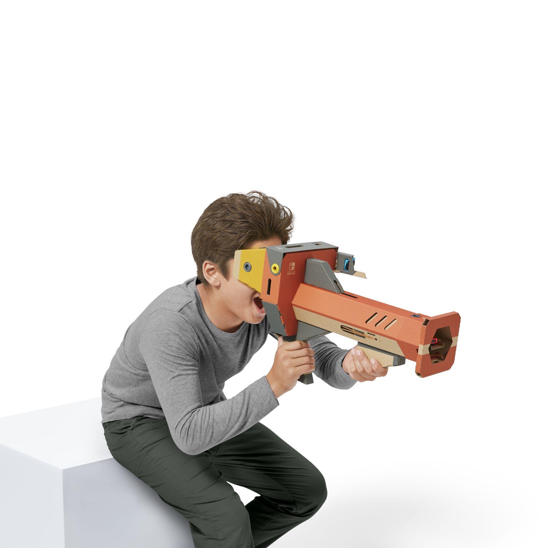 Nintendo Labo, le prime immagini del Kit VR
