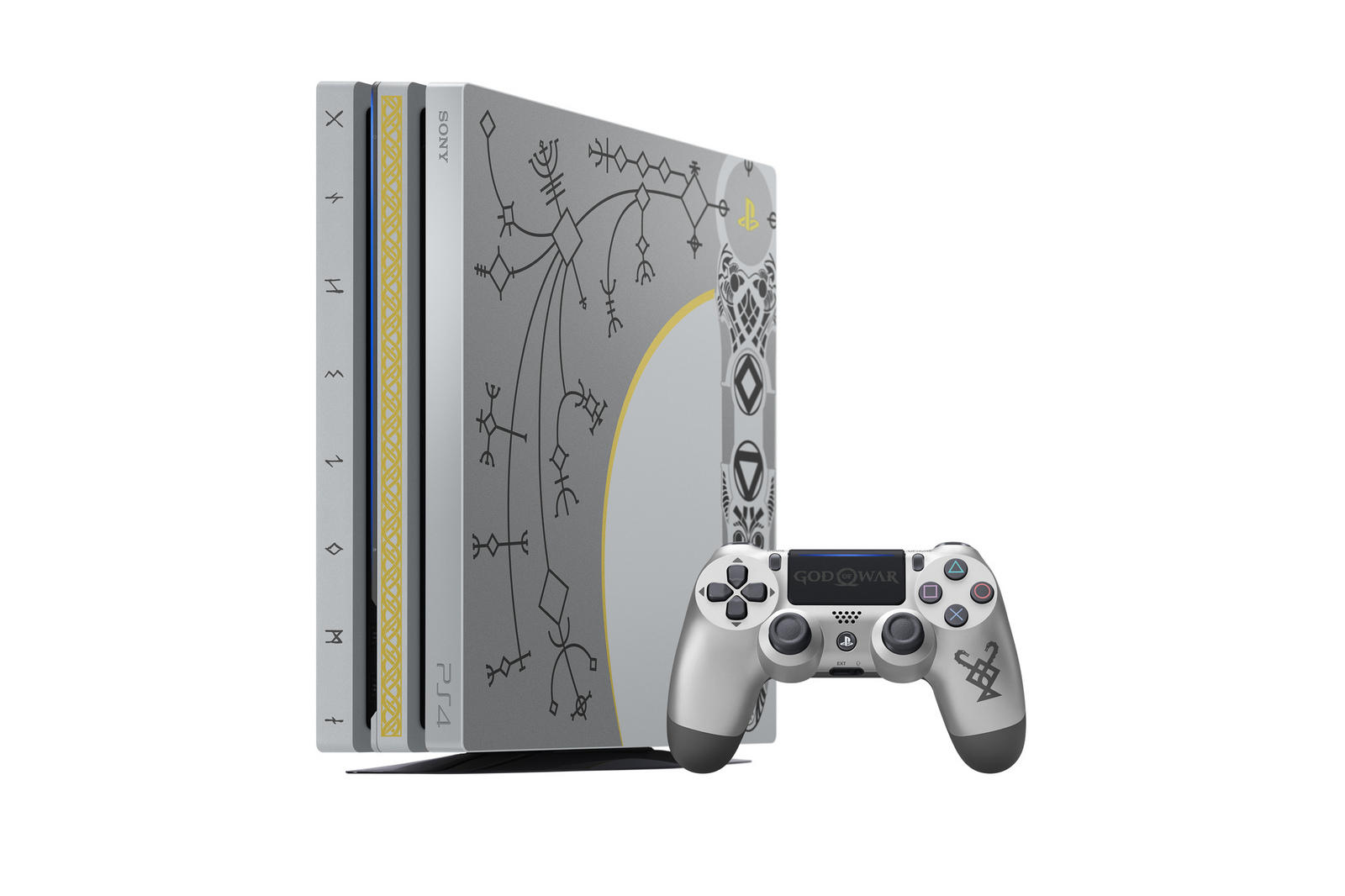 La PS4 Pro di God of War
