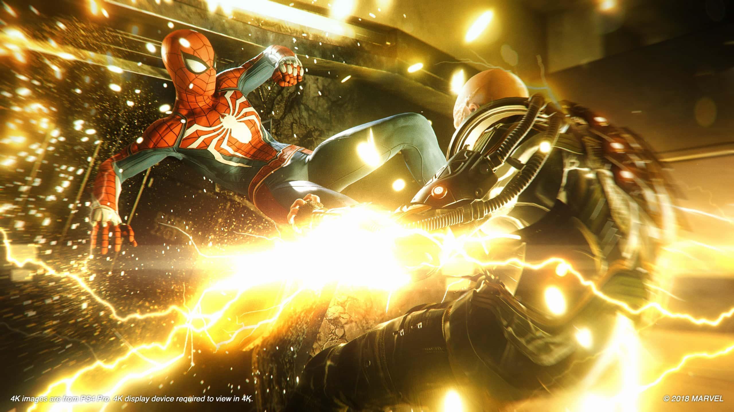 Spider-Man: le immagini su PS4 Pro