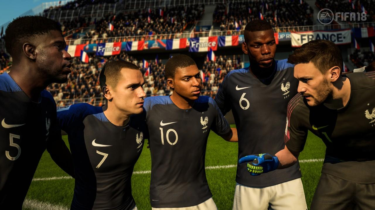 FIFA 18: immagini per l aggiornamento dei Mondiali