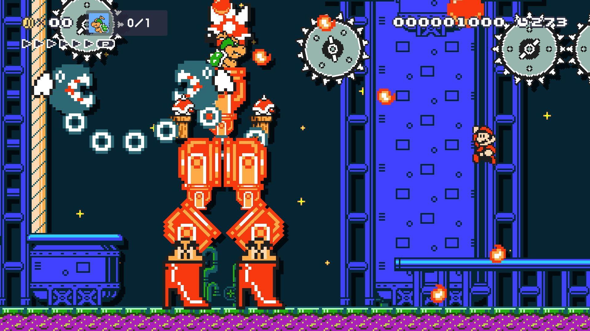 Super Mario Maker 2, le immagini ufficiali