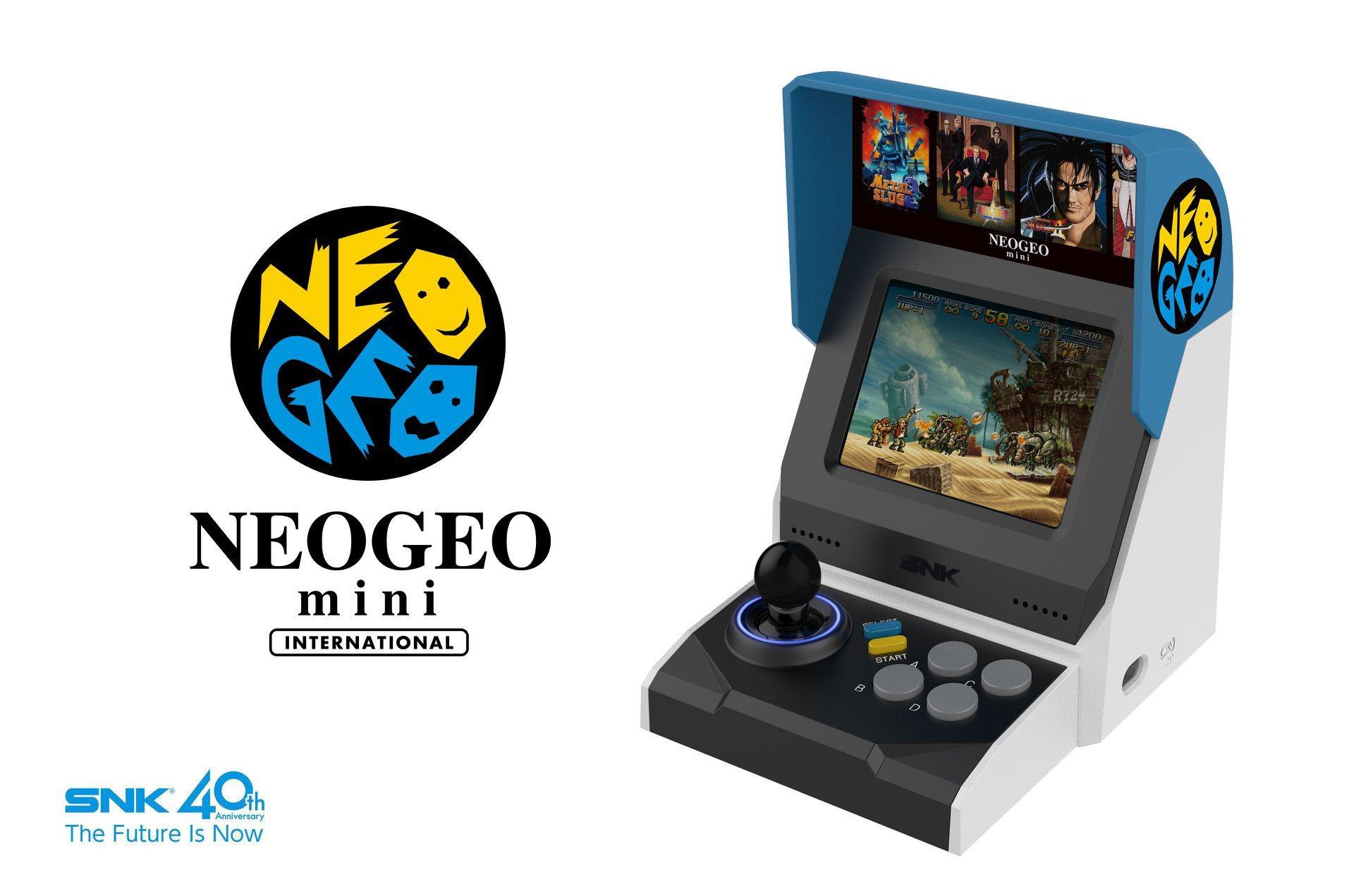 Le immagini ufficiali del Neo Geo Mini