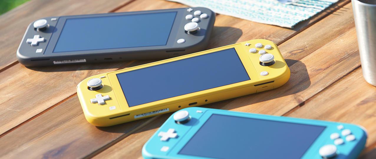 Nintendo Switch Lite - Le immagini ufficiali