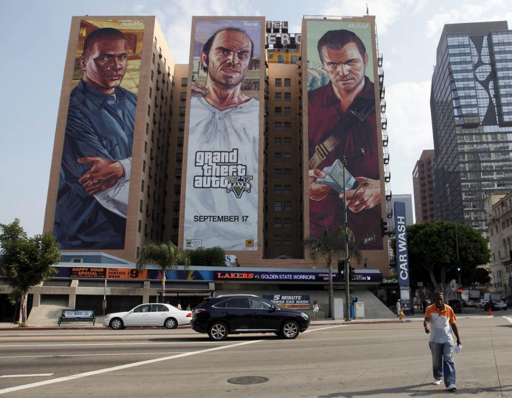 I murales dell E3