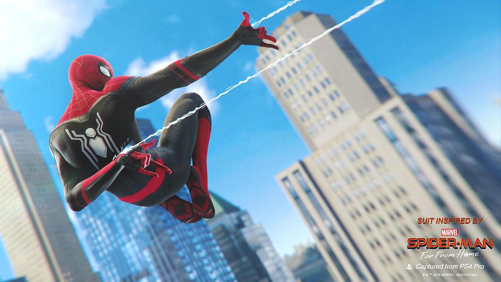 Marvel s Spider-Man: i costumi di Far From Home