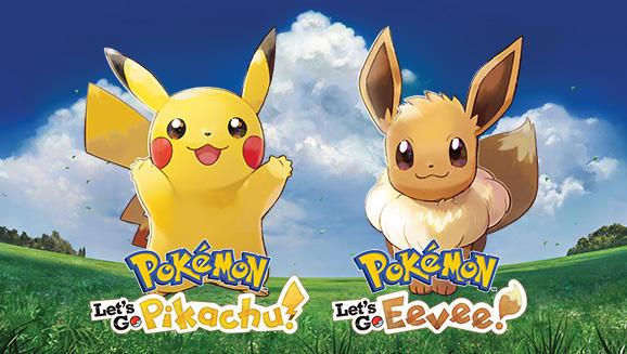 Le prime immagini di Pokemon: Let's Go, Pikachu! e Let's Go, Eevee!