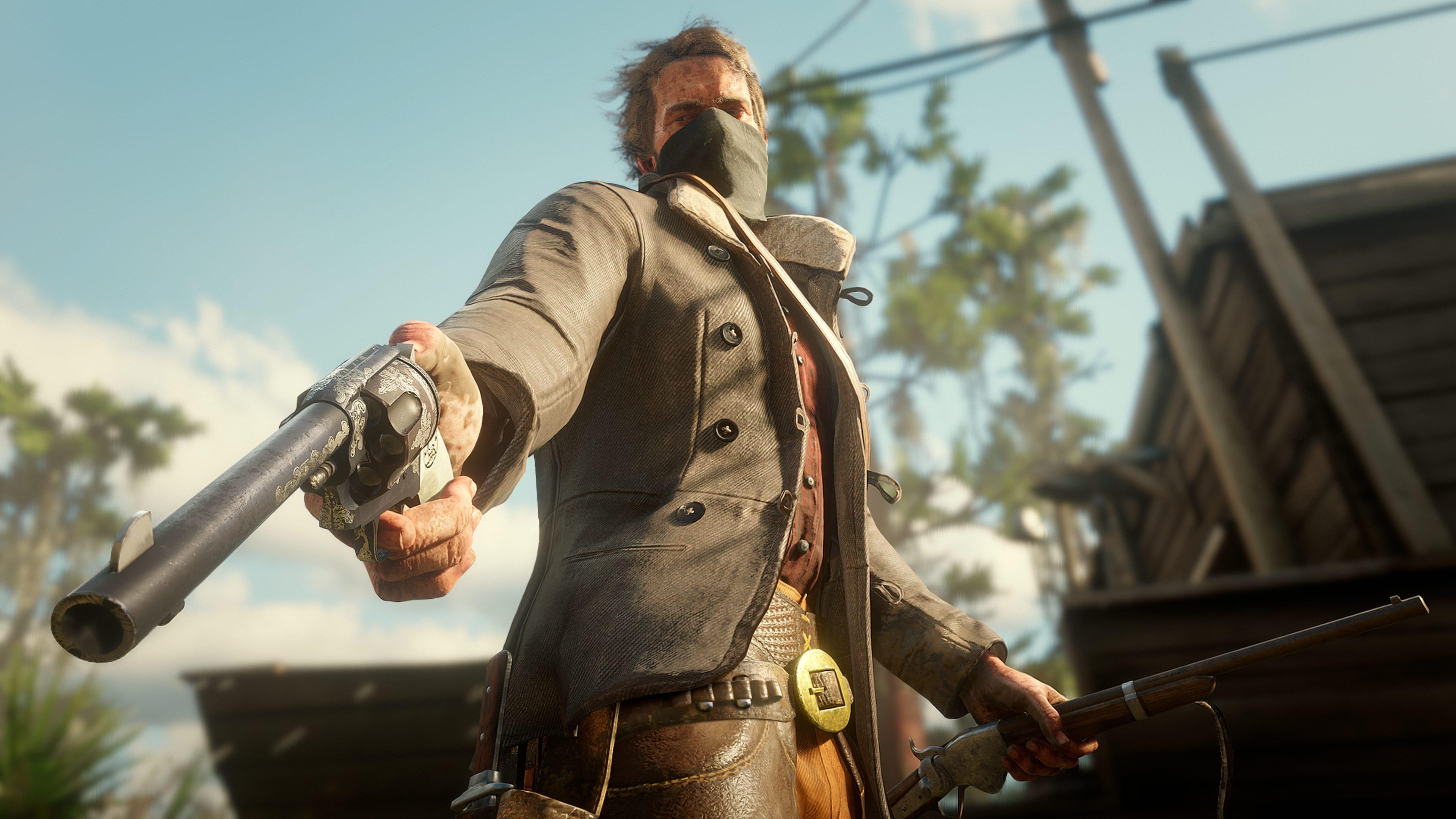Le armi e il Dead Eye di Red Dead Redemption 2