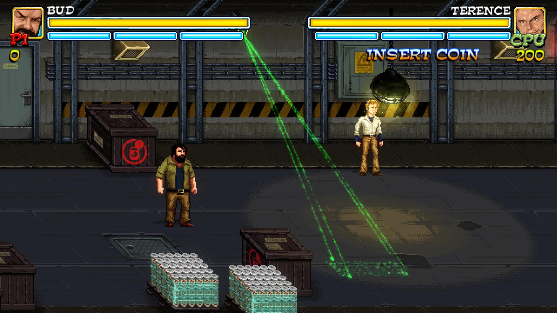 Alcuni scatti dal gioco dedicato a Bud Spencer e Terence Hill