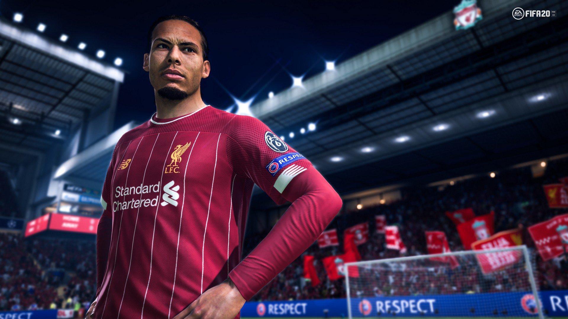FIFA 20 - Nuove immagini con le stelle del calcio europeo