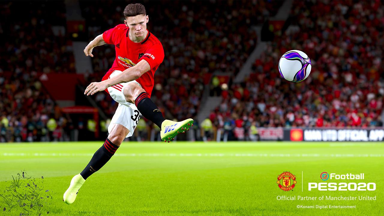 PES 2020: le immagini del Manchester United