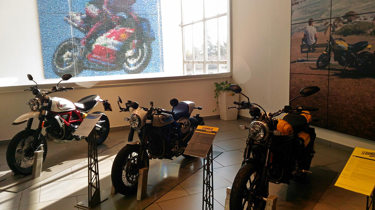 Ride 3: le foto del museo Ducati