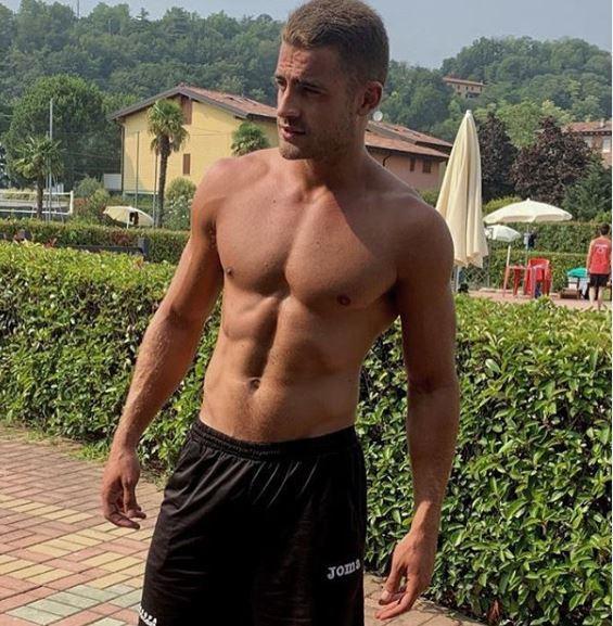 Christian Fregoni, il sexy bagnino di  Caduta libera