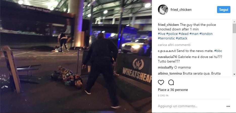 Attacco a Londra, finte cinture esplosive per terrorizzare i passanti