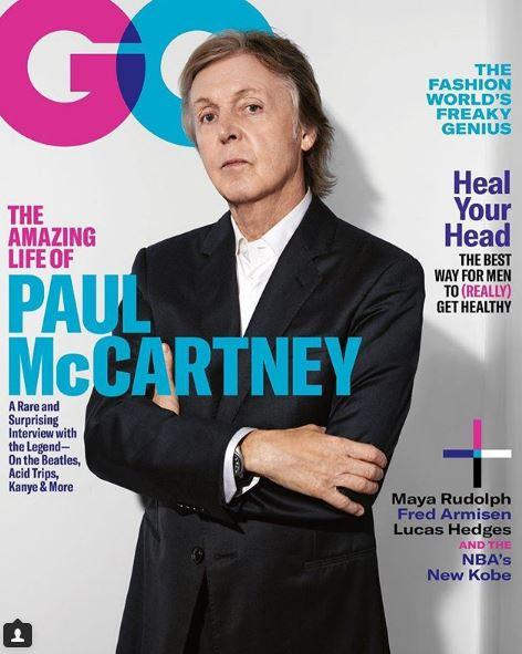 Paul McCartney sul magazine GQ