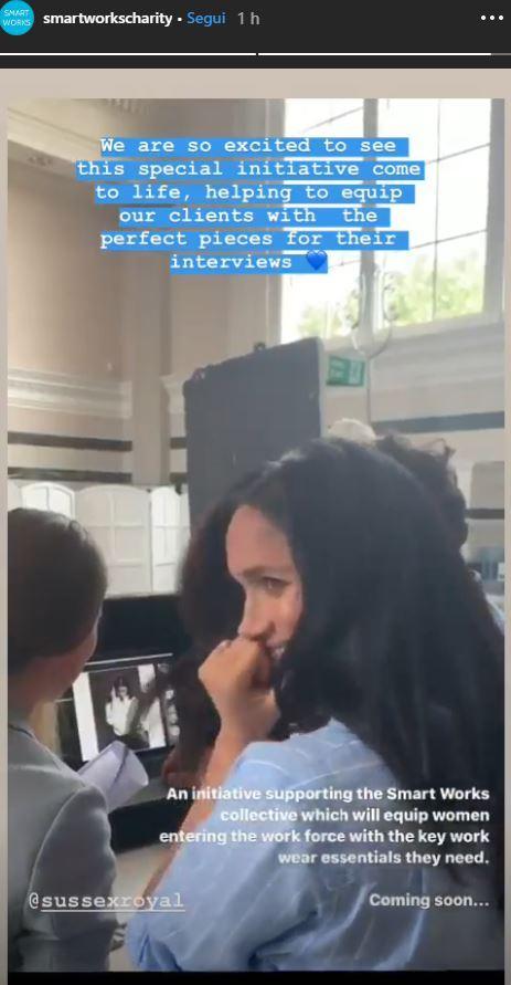 Meghan Markle stilista, guarda le immagini dal backstage dello shooting