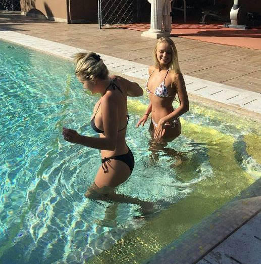 Mercedesz Henger, estate di relax per l'ex naufraga