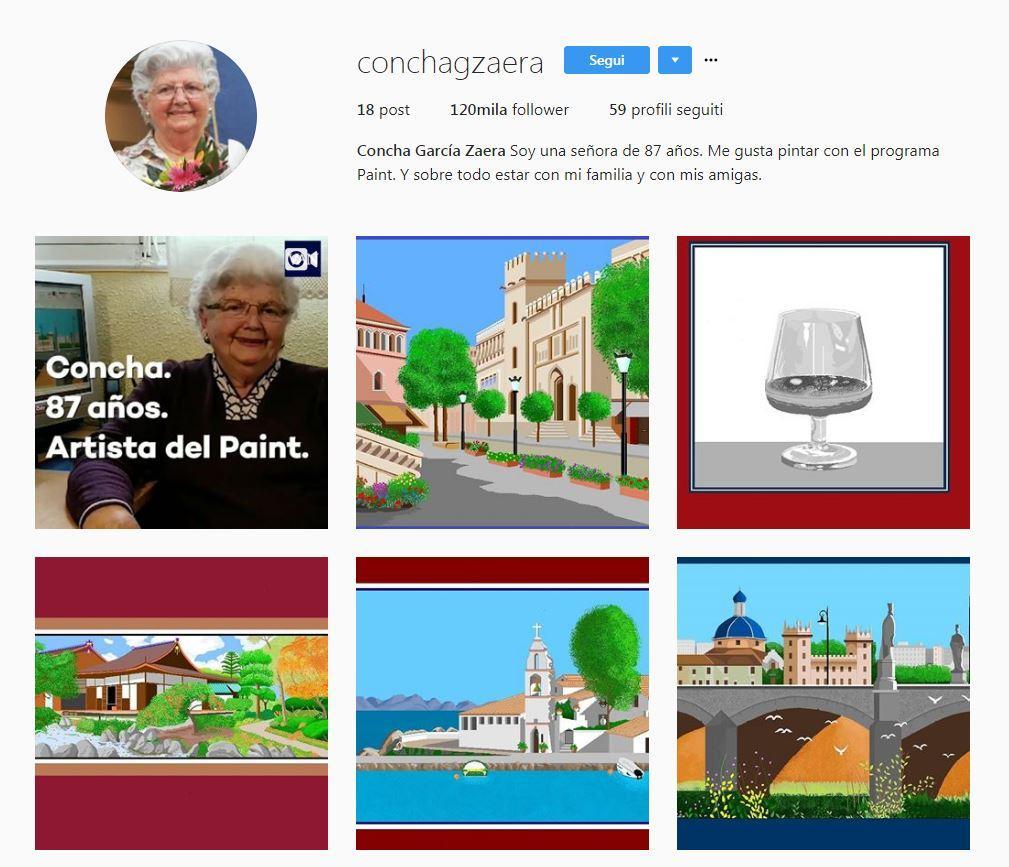 Spagna, nonnina artista di 87 anni crea capolavori digitali con Paint