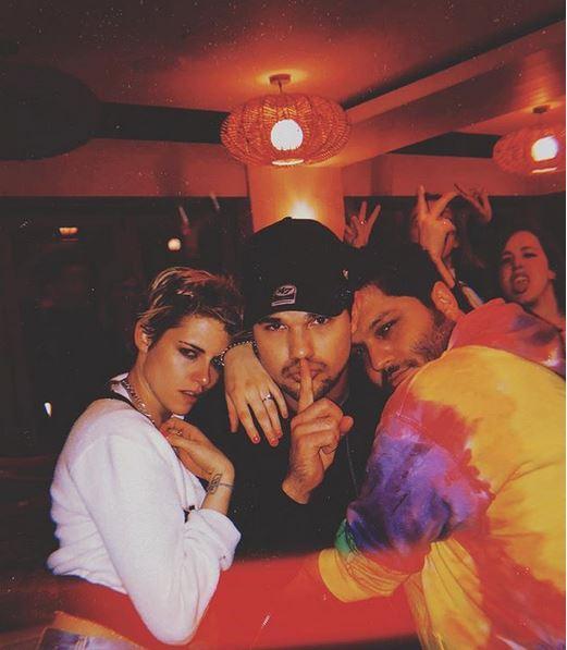 Kirsten Stewart e Taylor Lautner insieme: mini reunion di  Twilight