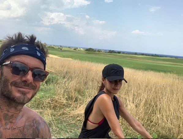 David Beckham in vacanza con Victoria in Puglia