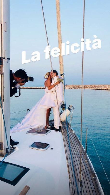 Claudio Santamaria e Francesca Barra sposi bis, ecco le foto delle loro seconde nozze