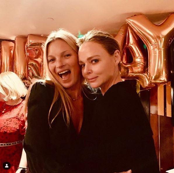 Kate Moss festeggia 45 anni, party con fidanzato e amiche