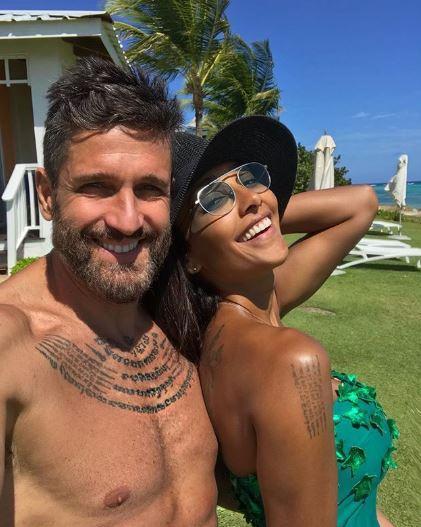 Juliana Moreira ed Edoardo Stoppa, vacanze ai Caraibi tra coccole e sport