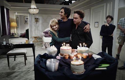 Big Bang Theory , l addio social del cast