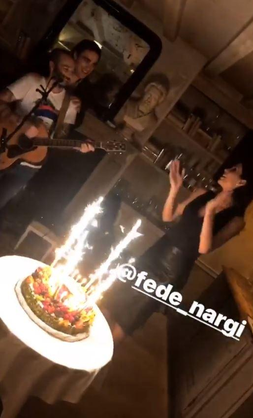 Federica Nargi, ecco la sua festa di compleanno