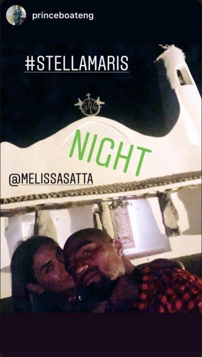 Melissa Satta conferma il ritorno di fiamma con Boateng
