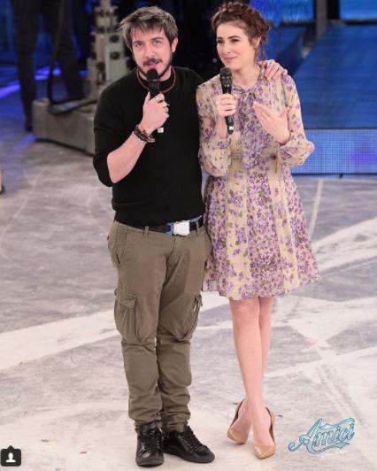 Amici 17, siparietto d amore tra Diana Del Bufalo e Paolo Ruffini