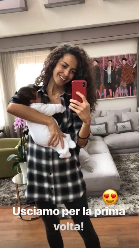 Laura Barriales già in formissima, prima uscita con la sua bambina